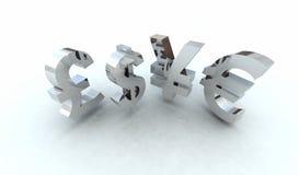 oznaki brudnych pieniędzy Zdjęcia Stock