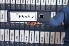Oznakujący Biznesowego strategii marketingowej pojęcie, obrazy royalty free