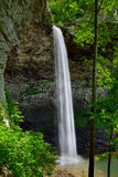 Ozone Falls in Westel, TN USA. Ozone Falls is a 110 foot (33.5 m) waterfall in Westel, Tennessee, USA Royalty Free Stock Images