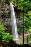 Ozone Falls in Westel, TN USA. Ozone Falls is a 110 foot (33.5 m) waterfall in Westel, Tennessee, USA Stock Photo