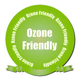 Ozone Friendly vector illustration