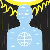 Ozone layer Royalty Free Stock Photography