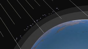 OZONE LAYER RAYS stock video