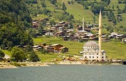 Ozungul lake. The Ozungul lake in north east Turkey Stock Image
