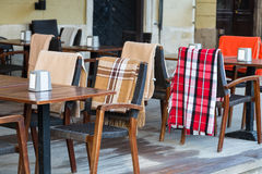 Сozy cafe in Lviv Royalty Free Stock Photos
