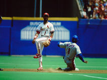 Ozzie Smith St. Louis Cardinals Stock Photography