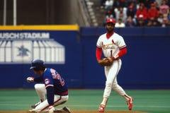 Ozzie Smith St Louis Cardinals Στοκ Εικόνα