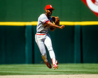 Ozzie Smith St. Louis Cardinals Stock Image