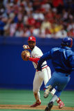 Ozzie Smith St. Louis Cardinals Royalty Free Stock Image