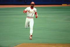 Ozzie Smith St. Louis Cardinals Stock Photo