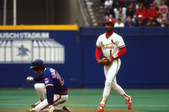 Ozzie Smith St. Louis Cardinals Stock Image