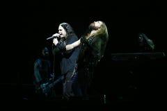 Ozzy Osbourne en Zakk Wylde Stock Fotografie