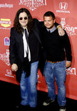 Ozzy Osbourne and Jack Osbourne Royalty Free Stock Image