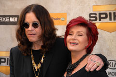 Ozzy Osbourne, Sharon Osbourne Obraz Royalty Free