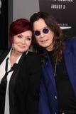 Ozzy Osbourne, Sharon Osbourne Imagem de Stock Royalty Free