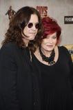 Ozzy Osbourne and Sharon Osbourne Stock Image