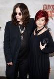 Ozzy Osbourne and Sharon Osbourne Royalty Free Stock Images