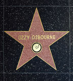 Ozzy Osbourne Star Stock Photo