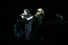 Ozzy Osbourne und Zakk Wylde Stockfotografie