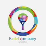 Pá do logotipo Foto de Stock