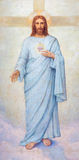 Pádua - o coração da pintura de Jesus Christ na catedral de Santa Maria Assunta (domo) imagens de stock royalty free