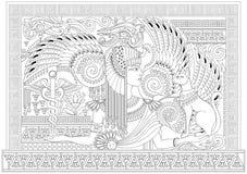 Mapa Del Antiguo Egipto Blanco Y Negro.Pagina Blanco Y Negro Para Colorear Con La Reina Egipcia