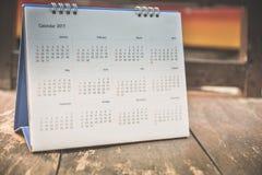 Página borrosa del calendario Imágenes de archivo libres de regalías