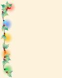 Página da beira do Natal Fotos de Stock