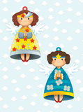 A página da coloração com teste padrão - ilustração para as crianças Imagem de Stock