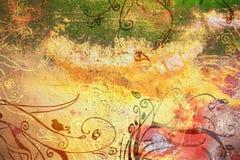 Página da textura de Grunge ilustração stock