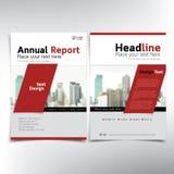 Página de cubierta del negocio, plantilla del vector, condominio y concepto modernos de las propiedades inmobiliarias stock de ilustración