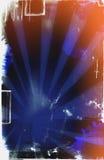 Página de Grunge com manchas Imagem de Stock