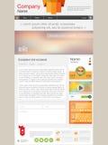 Página de las noticias Imagen de archivo libre de regalías