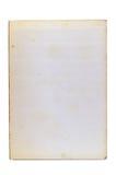 Página de papel velha fotografia de stock royalty free
