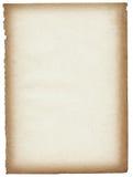 Página de papel velha ilustração stock