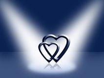 Página de tampa - dia dos Valentim Imagens de Stock Royalty Free