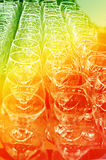 Página de vidros bebendo abstratos Fotografia de Stock Royalty Free