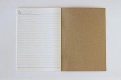 Página del último del libro Imagen de archivo libre de regalías