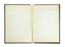 Página del libro Imagen de archivo libre de regalías