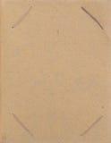 Página do álbum do retrato. Fotos de Stock