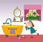 Página do livro de crianças Fotografia de Stock