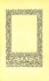 Página do livro do vintage Imagem de Stock Royalty Free