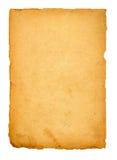 Página do livro velho no branco Imagens de Stock Royalty Free