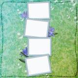 Página do Scrapbook Imagem de Stock