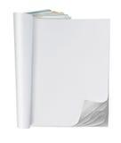 Página em branco do compartimento fotos de stock