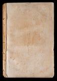 Página em branco do livro muito velho Foto de Stock