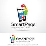 Página esperta Logo Template Design Vetora Fotos de Stock Royalty Free