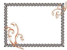 Página freme-vazia simples Ilustração Royalty Free