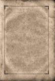 Página gasto em branco velha. Fotos de Stock