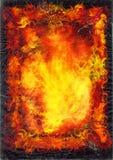 Página oscura de los libros de la fantasía Foto de archivo
